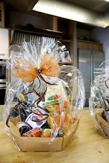 gift basket containing selected articles gift basket containing selected articles